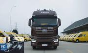 Trung Quốc thử nghiệm xe tải hạng nặng 40 tấn tự lái