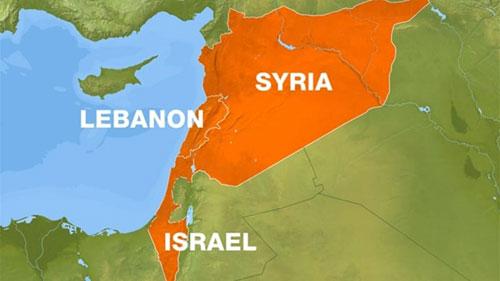 Vị trí tương quan giữa Syria, Lebanon và Israel. Ảnh: Aljazeera.