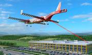 Máy bay kết hợp tàu hỏa - ý tưởng phương tiện cho tương lai