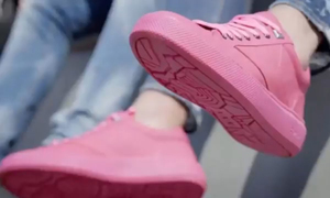 Giày sản xuất từ bã kẹo cao su ở Hà Lan