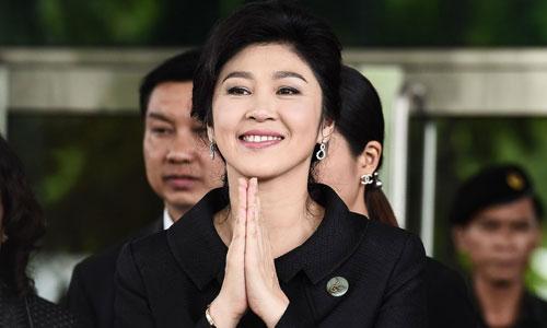 Cựu thủ tướng Thái Lan Yingluck Shinawatra. Ảnh: AFP.