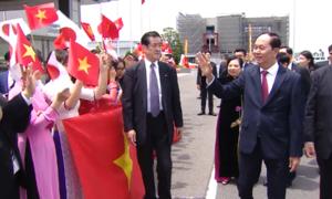 Chủ tịch nước Trần Đại Quang bắt đầu thăm Nhật Bản