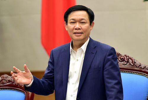 Phó thủ tướng Vương Đình Huệ. Ảnh: Vũ Chung