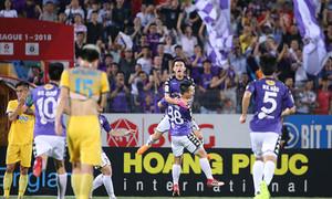 Top 5 bàn đẹp ở vòng 9 V-League 2018