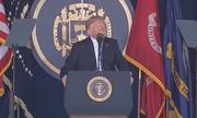 Học tiếng Anh: Trump phát biểu tại lễ tốt nghiệp Học viện Hải quân Mỹ