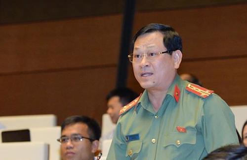 Đại tá Nguyễn Hữu Cầu, Giám đốc Công an Nghệ An. Ảnh: QH