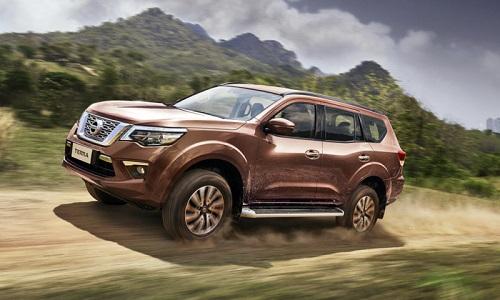 Nissan Terra dự kiến về Việt Nam cuối năm nay. Ảnh: Car magazine.