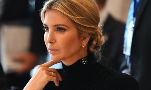 Cố vấn Nhà Trắng Ivanka Trump. Ảnh: AFP.