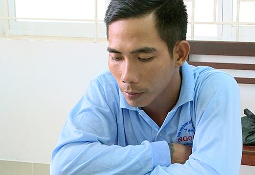 Đối tượng Nguyễn Trọng Kháng được xác định cầm đầu băng trộm, cướp. Ảnh: Quang Bình