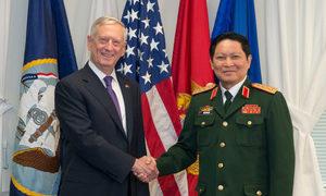 Bộ trưởng Quốc phòng Việt Nam và Mỹ hội đàm
