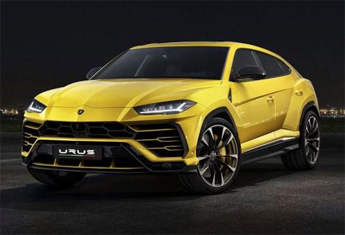 Lamborghini Urus - siêu SUV Italy từng ra mắt đầu tháng 12/2017.