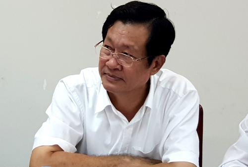 Giám đốc Sở Tài chính tỉnh Cà Mau Đoàn Quốc Khởi thừa nhận ngân sách địa phương bị áp lực lớn chi cho sự nghiệp giáo dục những năm qua. Ảnh: Phúc Hưng.