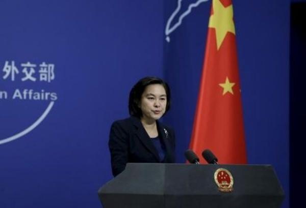 Hoa Xuân Doanh, phát ngôn viên Bộ Ngoại giao Trung Quốc. Ảnh: Reuters.