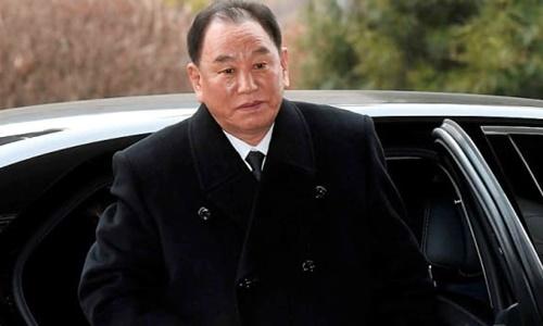 Phó chủ tịch Ủy ban Trung ương đảng Lao động Triều Tiên Kim Yong-chol. Ảnh: Reuters.