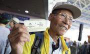 650 người Hàn Quốc hào hứng đi chuyến tàu giả định tới Bình Nhưỡng