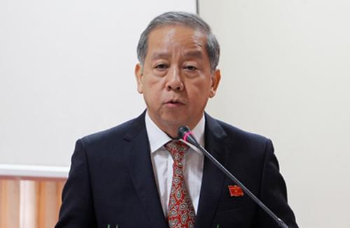 Ông Phan Ngọc Thọ được bầu giữ chức vụ Chủ tịch tỉnh Thừa Thiên Huế. Ảnh: Võ Thạnh