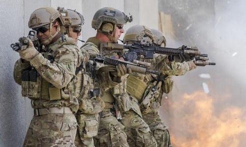 Các binh sĩ đặc nhiệm Mũ nồi xanh của lục quân Mỹ. Ảnh:SOFREP.