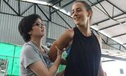 Cô gái Israel dạy võ tự vệ cho phụ nữ tại Hà Nội