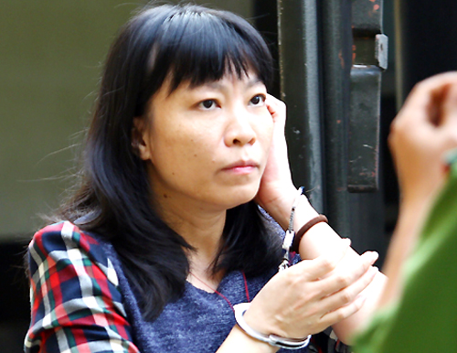Bị cáo Chung không được chấp nhận đơn kêu oan. Ảnh: Thành Nguyễn.