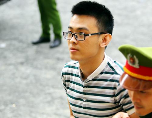 Bị cáo Thiện tại tòa hôm nay. Ảnh: Thành Nguyễn.