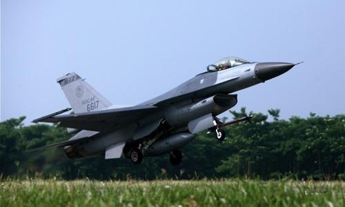 Chiến đấu cơ F-16 của Đài Loan. Ảnh:Flickr
