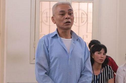 Bị cáo Hải tại phiên tòa sơ thẩm.