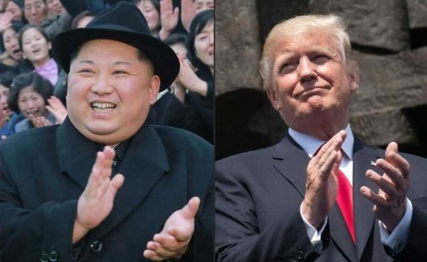 Lãnh đạo Triều Tiên Kim Jong-un và Tổng thống Mỹ Donald Trump.