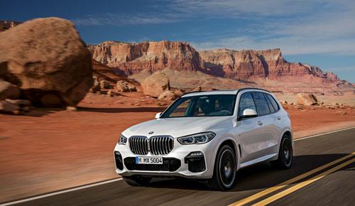 BMW X5 thế hệ mới lộ diện.
