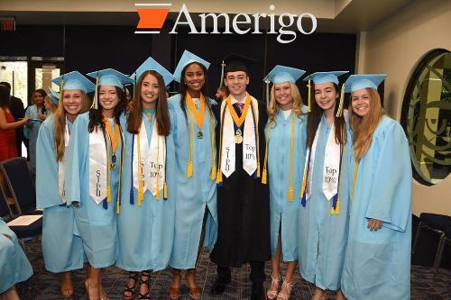 Amerigo có học bổng hấp dẫn cho học sinh quốc tế đạt thành tích học tập cao.