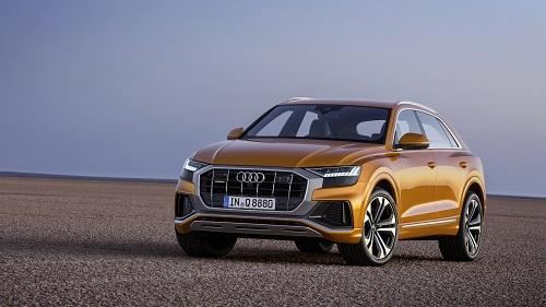 Audi Q8 ra mắt sau nhiều lần lộ ảnh chạy thử.