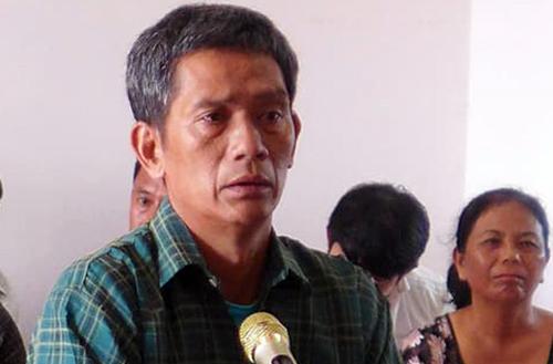 Phạm Quang Đạo tại tòa. Ảnh: Văn Trăm.