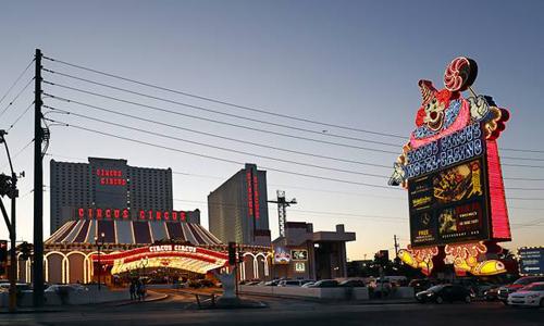 Khách sạn Circus Circustạisố 2880 đại lộ Las Vegas, Mỹ. Ảnh:Las Vegas Sun.