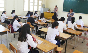Gần 95.000 thí sinh Hà Nội làm thủ tục thi vào lớp 10 công lập