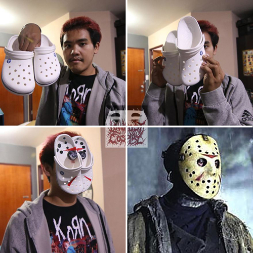 Sự thật đằng sau chiếc mặt nạ của Jackson.