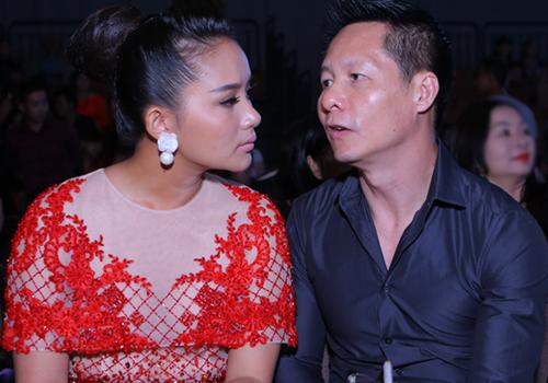 Phan Như Thảo và chồng đại gia Đức An. Ảnh: Phước Trí.