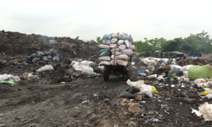Ô nhiễm rác thải từ làng nghề tái chế nhựa ở Hưng Yên