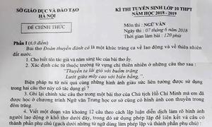 Gợi ý giải đề Ngữ văn vào lớp 10 THPT công lập Hà Nội