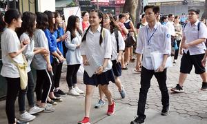 Gần 95.000 học sinh Hà Nội bắt đầu thi vào lớp 10 công lập