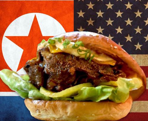 Món bánh có tên The Burger for World Peace (Bánh burger vì hòa bình thế giới)được Wolf Burgers