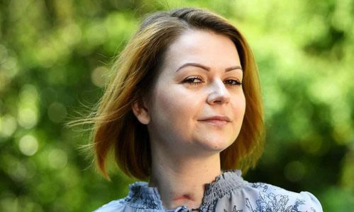 YuliaSkripal, con gái cựu điệp viên hai mang NgaSergeiSkripal. Ảnh: Guardian.