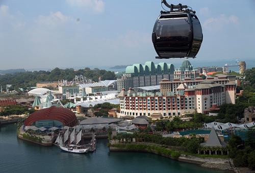 Toàn cảnh đảoSentosa, Singapore