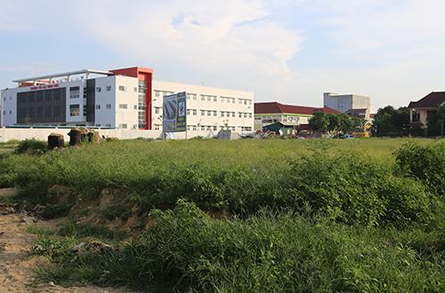 Khu đất mà tỉnh Nghệ An đã giao cho doanh nghiệp với giá 5,6 triệu đồng. Ảnh: Nguyễn Hải.