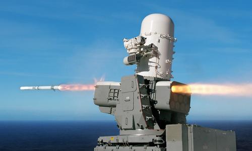 Hệ thống SeaRAM bắn thử ngoài khơi nước Mỹ năm 2014. Ảnh: US Navy.
