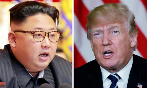 Tổng thống Mỹ Donald Trump (phải) và lãnh đạo Triều Tiên Kim Jong-un sẽ gặp nhau vào ngày 12/6 tại Singapore. Ảnh: Reuters.
