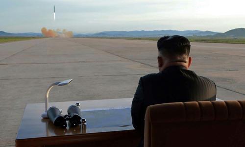 Chương trình tên lửa và hạt nhân của Triều Tiên phát triển nhanh chóng dưới thời Kim Jong-un. Ảnh: AFP.