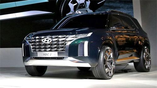 Grandmaster có thể là bản xem trước của những mẫu SUV trong tương lai của Hyundai. Ảnh: Motor1.