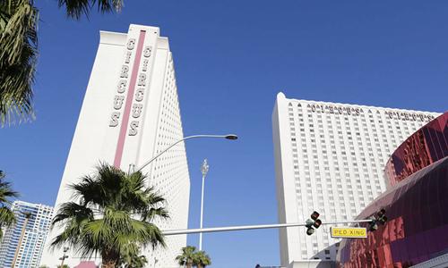 Khách sạn Circus Circus tại số 2880 đại lộ Las Vegas, Mỹ. Ảnh: Las Vegas Review-Journal.