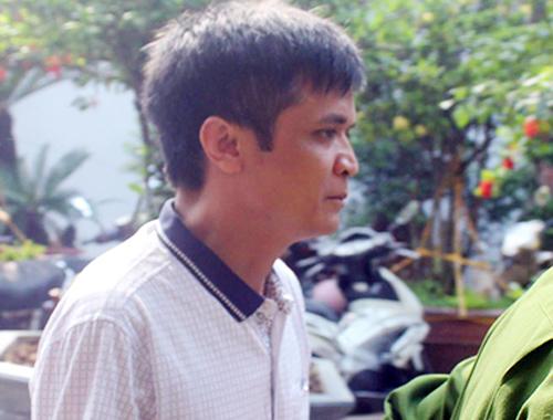 Nam bị cáo đến toà. Ảnh: Anh Phú.