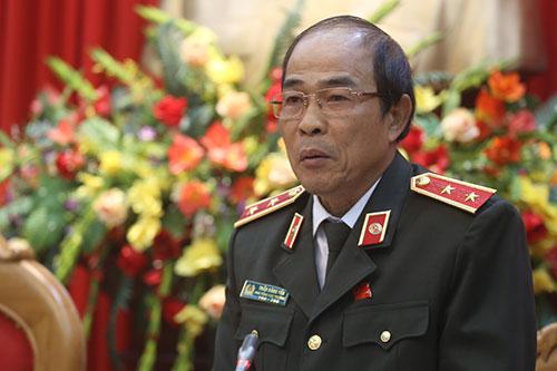 Trung tướng Trần Đăng Yến. Ảnh: Bá Đô