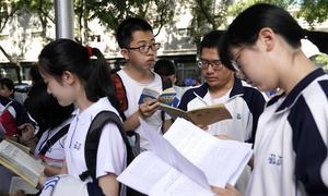 10 triệu sĩ tử Trung Quốc chạy đua giành vé vào đại học